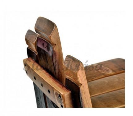 Rustikální barová židle