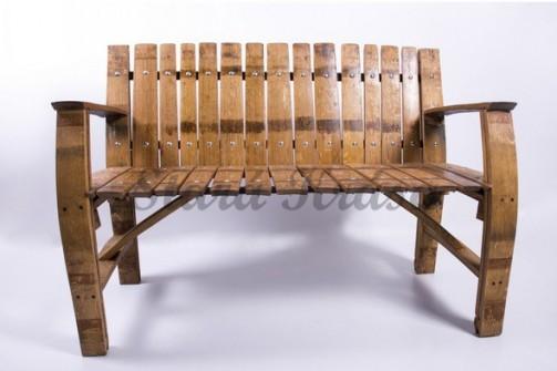 Luxusní zahradní lavice z masivu.