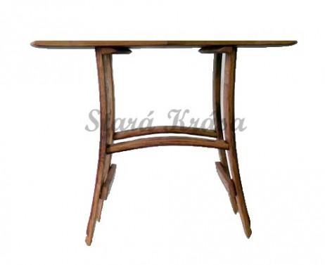 Servírovací stolek z masivu.