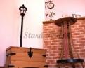 Luxusní barový stolek z dubového dřeva