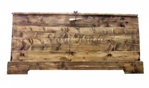 Originální dřevěná rustikální truhla