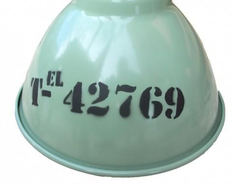 Hliníkové osvětlení s industriálním nápisem č.3
