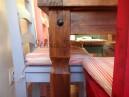 Rustikální jídelní stůl 140x80