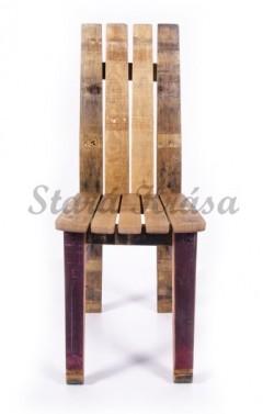 Kavárenská židle z masivu
