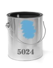 Modrá křídová barva - Ral 5024