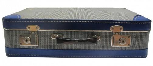 Vzorovaný retro kufřík