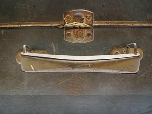 Opotřebovaný kufr