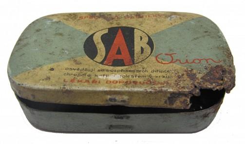 SAB Orion - Stará plechová krabička