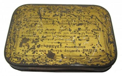 Antique krabička na pastilky