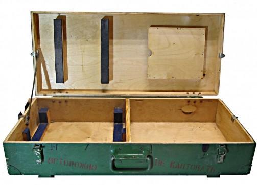Vintage dřevěná bedýnka