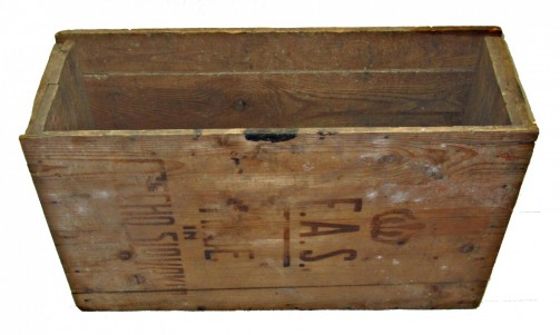 Stará dřevěná bedýnka