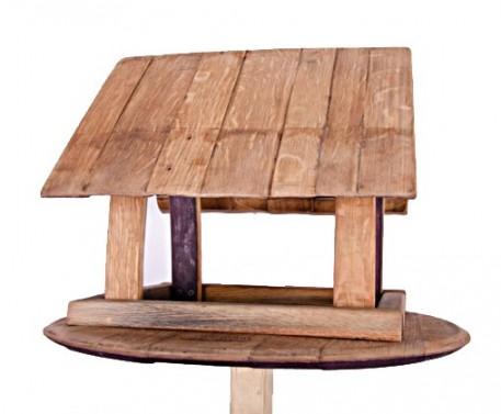 Masivní dřevěná ptačí budka