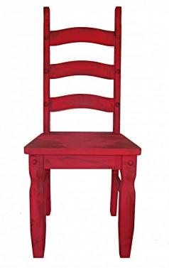 Dřevěná vintage židle