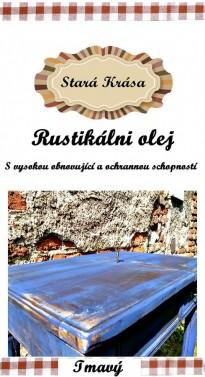 Rustikální - restaurátorský olej