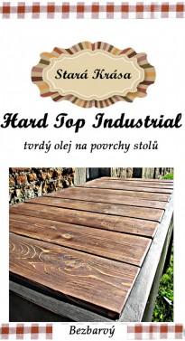 Tvrdý olej na industriální a rustikální povrchy stolů