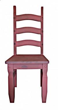 Ručně vyráběná židle z masivu