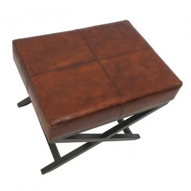 Luxusní kožená stolička - Stará Krása