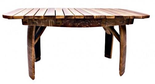 Dubový selský konferenční stolek