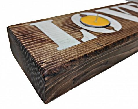 Dřevěný svíce - Stará Krása