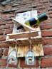 Luxusní selský stojan na víno