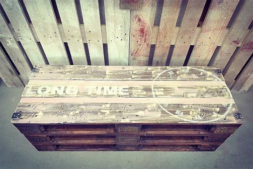 Paletový konferenční stolek - Stará Krása