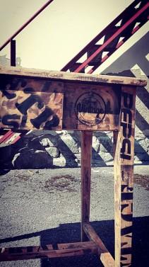 Vintage pracovní stolek
