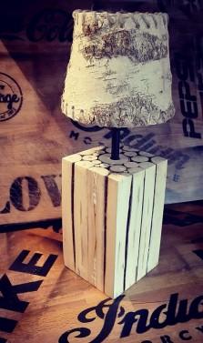 Selská lampička do domu