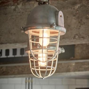 Dobové industriální svítidlo
