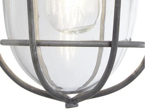 Dobově zpracované industriální svítidlo