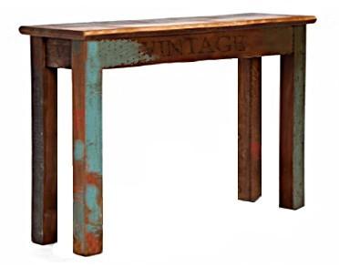 Konzolový vintage stolek