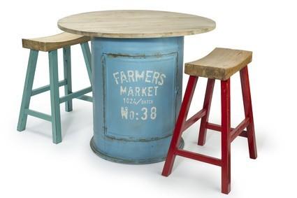 Vintage barové židle