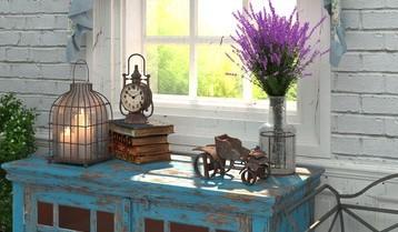 Bydlení ve stylu Provence inspirace