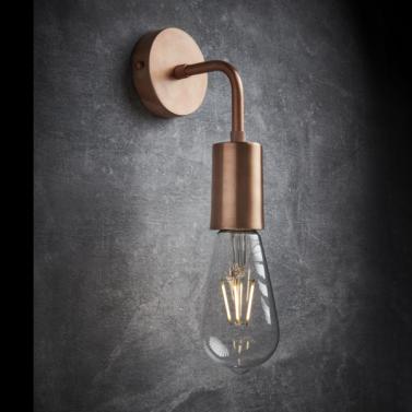 luxusní měděné industriální světlo