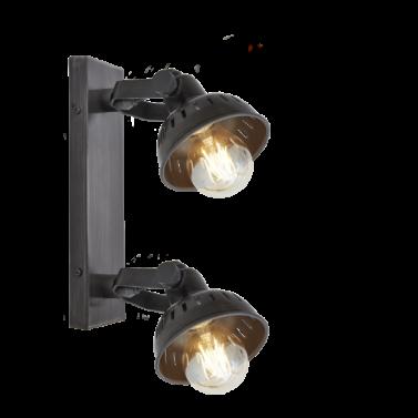 Dvojité reflektorové industriální světlo