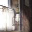 Mosazné industriální svítidlo v industriálním stylu a patinou
