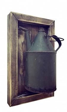 Dřevěné obrazy ve vintage stylu