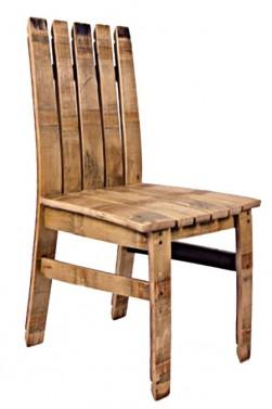 Dubová jídelní židle
