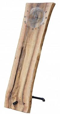 Luxusní stojací dubové hodiny