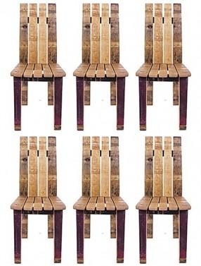 Levné jídelní židle z masivu