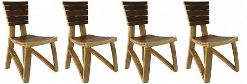 Designové židle z masivu