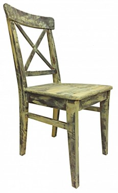 Jídelní židle s patinou