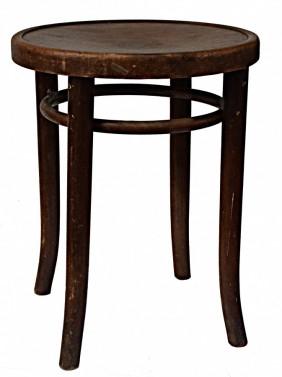 Stará židle - kulatý tvar