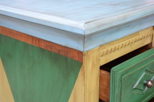 Malované truhly - komody - skříně a dekorace