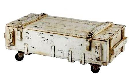 Konferenční stolek ve vintage stylu
