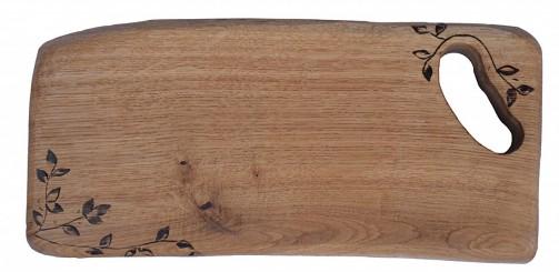 Tradiční krájecí prkénko do kuchyně z dubového dřeva