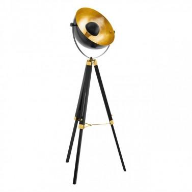 Mosazná stojná lampa