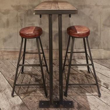 Kovové barové židličky