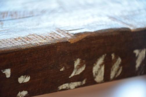 Konferenční stůl ze starých trubek