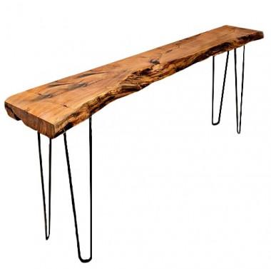 Konzolový stolek z masivu