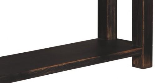 Konzolový stolek v černé barvě